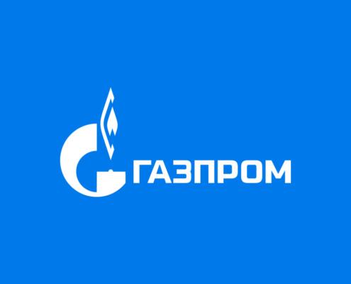 Логотип Газпром от Volkov Lab. (viil.ru)